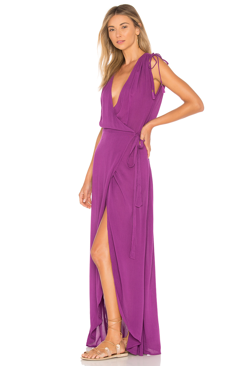 Платье L'Space Wrapper Dress In Orchid  - MixBikini