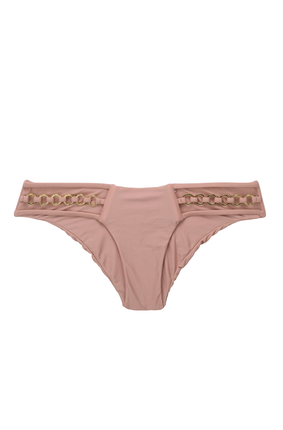 Плавки Beach Bunny Ireland Triple Strap Skimpy Bottom Whiskey Rose - MixBikini