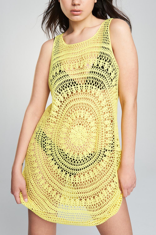 8f6e7c50bf8a0 Купить Туника пляжная Lemon за 5400 ₽ в интернет-магазине MixBikini