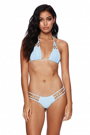 Лиф Beach Bunny Ireland Ring Triangle Top Blue - MixBikini