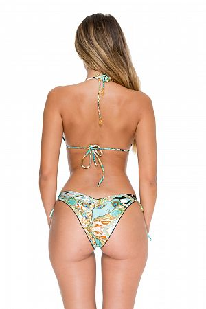 Купальник Luli Fama Guantanamera Crystalized Top & Brazilian bottom - MixBikini